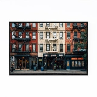 Noir Gallery East Village Manhattan New York Framed Art Print