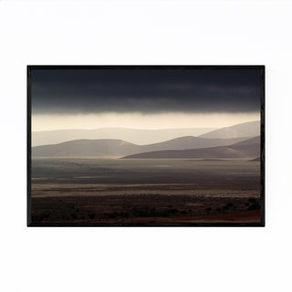 Noir Gallery Namibia Desert Landscape Nature Framed Art Print