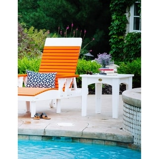 Outdoor Island End Table - Recycled Plastic