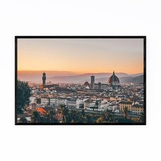 Noir Gallery Florence Italy Cityscape Europe Framed Art Print