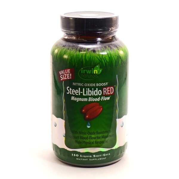 Shop Irwin Naturals Steel-Libido RED - 150 Capsules - Free Shipping On Orders Over $45