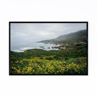 Noir Gallery Coastal Big Sur California Ocean Framed Art Print