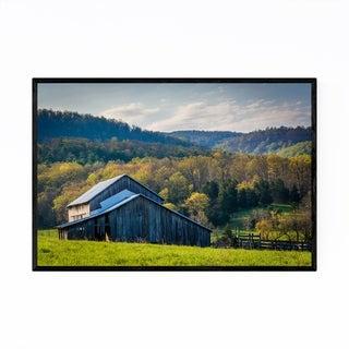 Noir Gallery Barn Farm Shenandoah Valley Framed Art Print