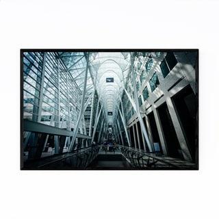 Noir Gallery Modern Urban Architecture Framed Art Print