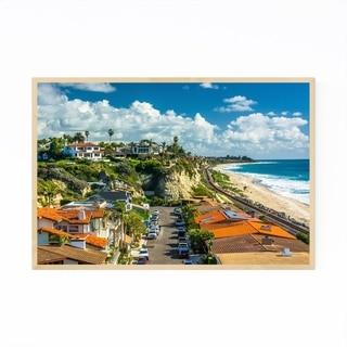 Noir Gallery San Clemente California Beach Framed Art Print