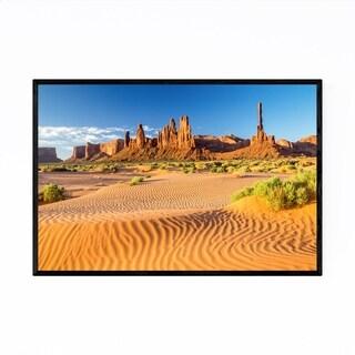 Noir Gallery Monument Valley Arizona Desert Framed Art Print