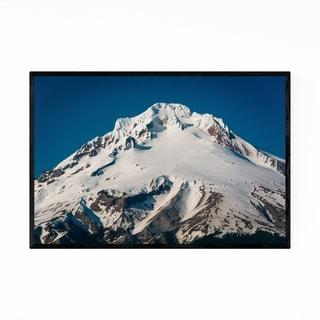 Noir Gallery Mount Hood Oregon Landscape Framed Art Print