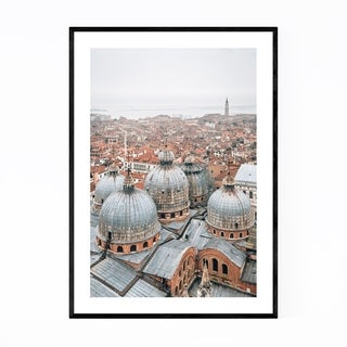 Noir Gallery Venice Italy Architecture Photo Framed Art Print