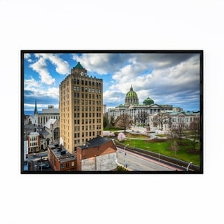 Noir Gallery Harrisburg Pennsylvania Capitol Framed Art Print