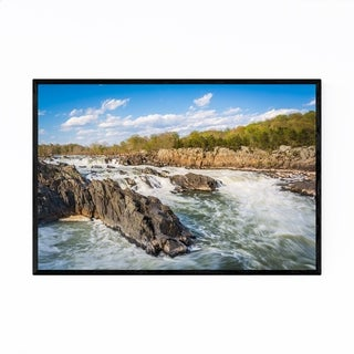 Noir Gallery Virginia Potomac Great Falls Framed Art Print