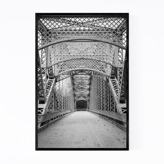 Noir Gallery Old Bridge Architecture Maryland Framed Art Print
