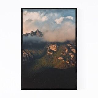Noir Gallery Amalfi Coastal Italy Ravello Framed Art Print