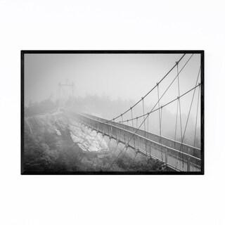 Noir Gallery Black White Grandfather Mountain Framed Art Print