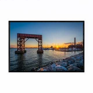 Noir Gallery Canton Waterfront Baltimore MD Framed Art Print