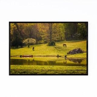 Noir Gallery Virginia Shenandoah Valley Farm Framed Art Print