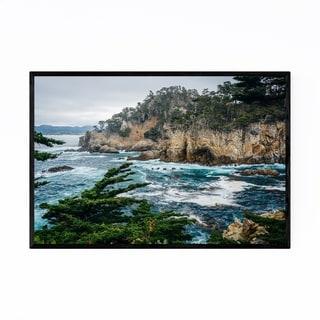 Noir Gallery Point Lobos Big Sur California Framed Art Print