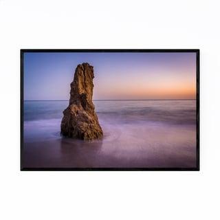 Noir Gallery Matador Beach Malibu California Framed Art Print