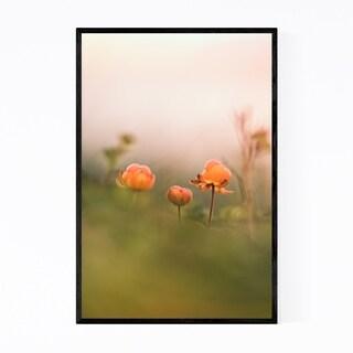 Noir Gallery Tydal Norway Cloudberries Framed Art Print