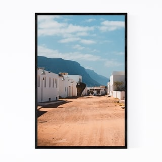 Noir Gallery Lanzarote Canary Islands Houses Framed Art Print