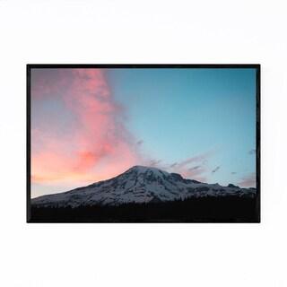 Noir Gallery Mount Rainier Washington Nature Framed Art Print