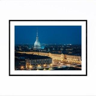 Noir Gallery Turin Italy Mole Antonelliana Framed Art Print