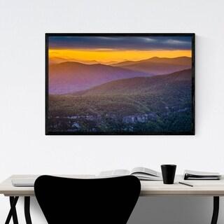 Noir Gallery Linville Gorge, North Carolina Framed Art Print