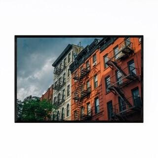 Noir Gallery West Village Houses New York Framed Art Print
