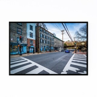 Noir Gallery Downtown Ellicott City Maryland Framed Art Print