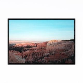 Noir Gallery Bryce Canyon Landscape Utah Framed Art Print