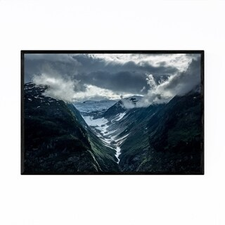 Noir Gallery Mountains British Columbia Framed Art Print