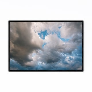 Noir Gallery Storm Clouds in the Sky Nature Framed Art Print
