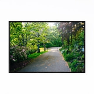 Noir Gallery Portland Pittock Mansion Gardens Framed Art Print