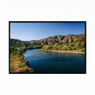 Noir Gallery Malibu Los Angeles California Framed Art Print