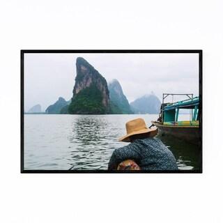 Noir Gallery Phuket Thailand Landscape Framed Art Print