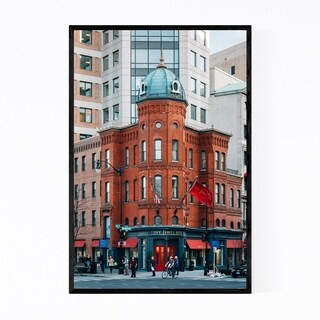 Noir Gallery Dupont Circle Washington DC Framed Art Print