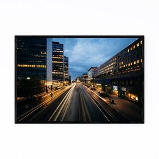 Noir Gallery Stockholm Sweden Cityscape Framed Art Print