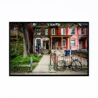 Noir Gallery Kensington Market Toronto Framed Art Print