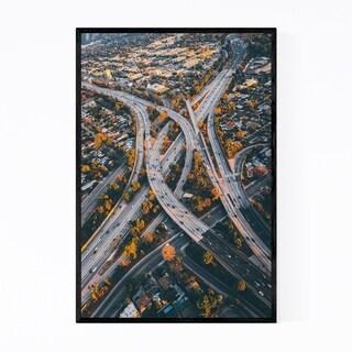 Noir Gallery Los Angeles California Cityscape Framed Art Print