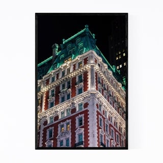 Noir Gallery Architecture Manhattan New York Framed Art Print