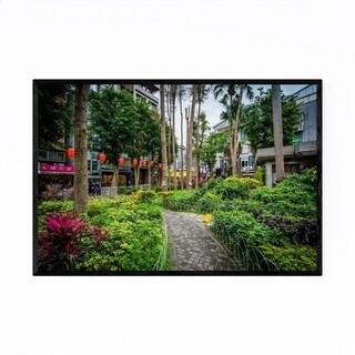 Noir Gallery Taipei Taiwan City Park Framed Art Print