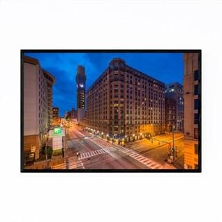Noir Gallery Baltimore Skyline Cityscape MD Framed Art Print