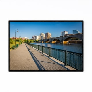 Noir Gallery Boston North Point Park Framed Art Print