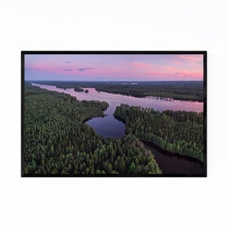 Noir Gallery Kangasniemi Finland Landscape Framed Art Print