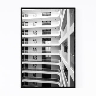 Noir Gallery Singapore Architecture Photo Framed Art Print