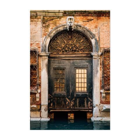 Noir Gallery Venice Italy Door Canal Photo Unframed Art Print/Poster