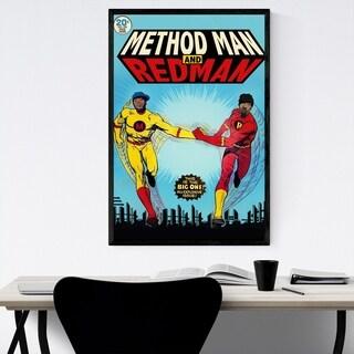 Noir Gallery Methodman Redman Hip Hop Music Framed Art Print