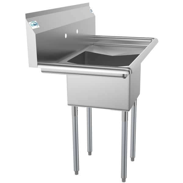 Shop KoolMore 38-Inch Stainless Steel Commercial Kitchen ...