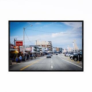 Noir Gallery Hampton Beach New Hampshire Framed Art Print