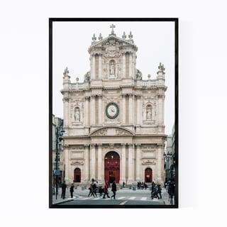 Noir Gallery Church Marais Paris France Urban Framed Art Print