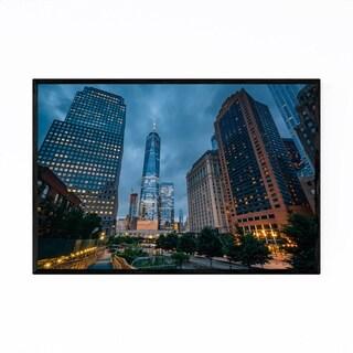 Noir Gallery World Trade Center New York City Framed Art Print
